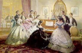 Imágenes Victorianas: Reuniones de amigos.