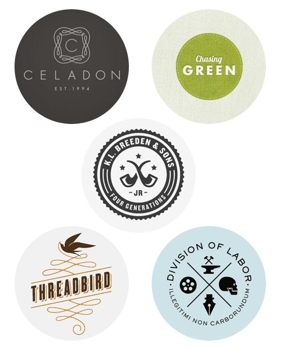 logos on the round