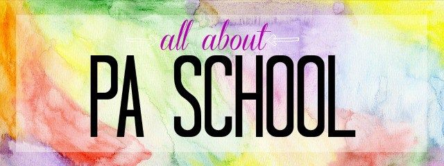 all about PA school