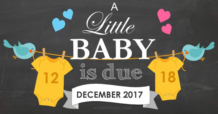 Get week by week and specific information for estimated due date, December 18 2017!