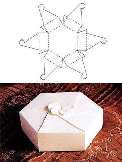 Kreativ Ötlettár: Papír dobozok és táskák (sablonnal)