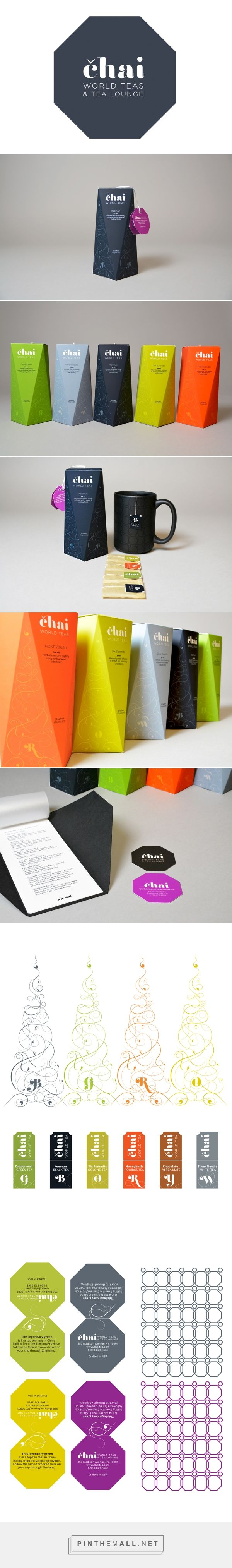 Chai Tea & Lounge - American Package Awards Winner 2014 on Behance... - a grouped images picture - Pin Them All
