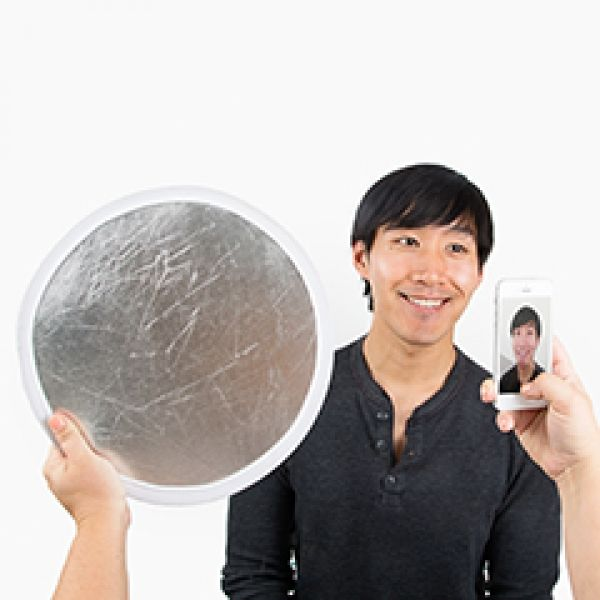 Pocket Reflector - A go-anywhere reflector to help you light up your photo just the way you want it. ($15.00, http://photojojo.com/store)