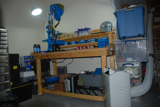 Dillon Reloading Press on American Workbench
