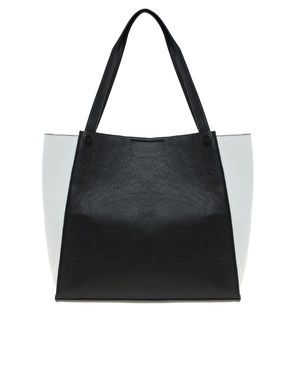 Image 1 of New Look Phoebe Winged Tote Bag http://us.asos.com/New-Look/New-Look-Phoebe-Winged-Tote-Bag/Prod/pgeproduct.aspx?iid=2761069&cid=15142&sh=0&pge=2&pgesize=36&sort=-1&clr=Black+%26+white&r=2