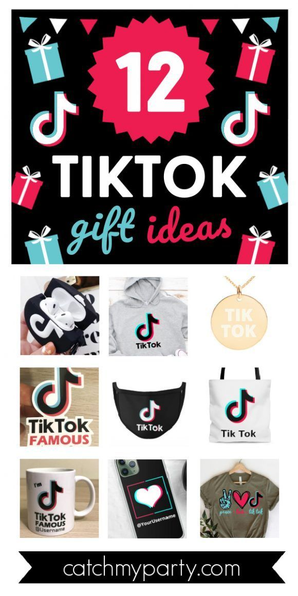 You Are Going To Love These Fun 10 Tiktok Gifts Catch My Party Girls Birthday Party Themes Catch My Party Birthday Gifts For Boys