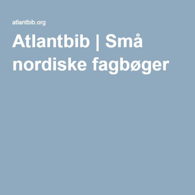 Atlantbib.org er et skoleprojekt med deltagere fra Danmark, Norge, Sverige og Færøerne. Det er et gratis læremiddel til skoler i arbejdet med nordisk sprog og kultur.