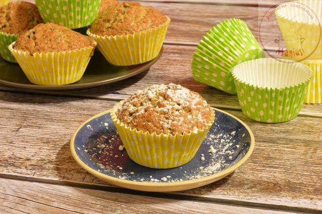 Uwielbiam piec muffiny, tak samo jak uwielbiam piec ciasteczka, jest w tym całym pieczeniu coś ...