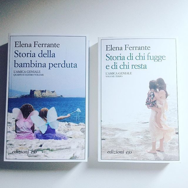 Nuove letture 📚 non vedevo l'ora di proseguire questa meravigliosa saga! #elenaferrante #lamicageniale #bookstagram #nuoveletture #instabooks #potd #blogger #book📖 #libri #libridaleggere