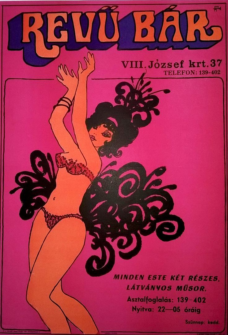 Variety Bar in Budapest (19 440 forint   $80 at Budapest Poster Gallery's Shop)