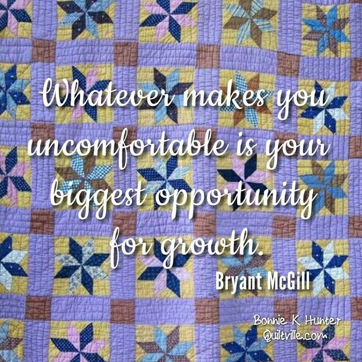 There is no growth without struggle! If it makes you feel uncomfortable, or awkward - know that you are headed in the right direction! Vintage quilt found in Texas. . . #quilt #quilting #patchwork #quiltville #bonniekhunter #vintagequilt #antiquequilt #starquilt #deepthoughts #wisewords #wordsofwisdom #quiltvillequote #quote #inspiration