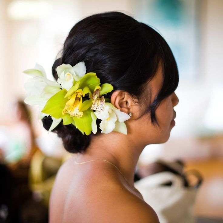 Tropical Wedding Hairstyles: 15 Best Hawaiian Hairstyles Images On Pinterest