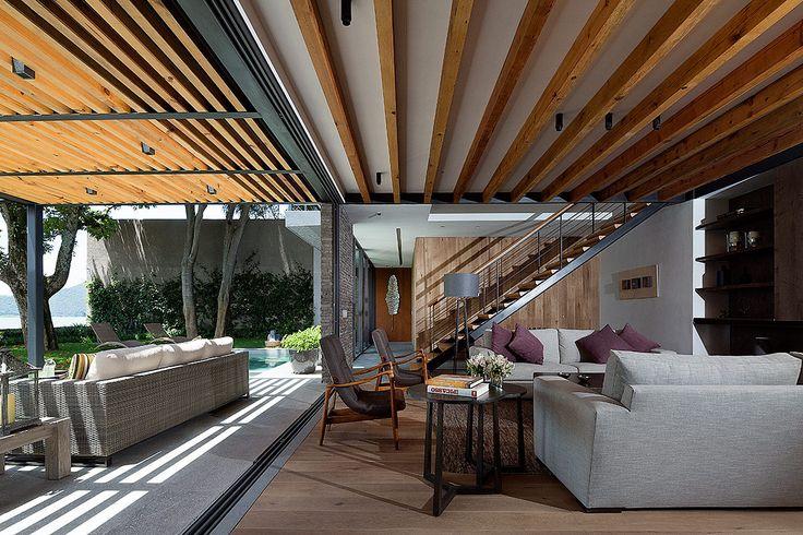 Casa de descanso en valle de bravo arquitectura casa - Casas en llica de vall ...