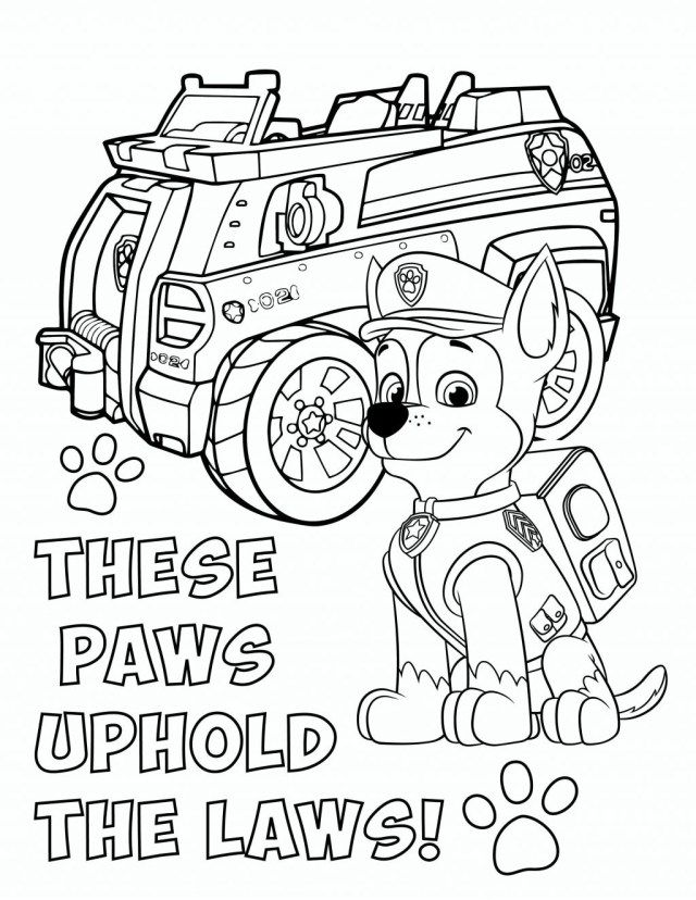 25 Excellent Picture Of Chase Paw Patrol Coloring Page Entitlementtrap Com Paw Patrol Coloring Pages Paw Patrol Coloring Chase Paw Patrol
