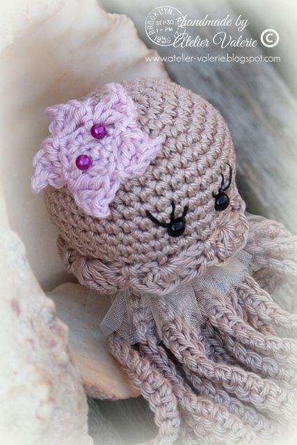 Miss Jellyfish   Atelier Valerie ♥   Bloglovin'