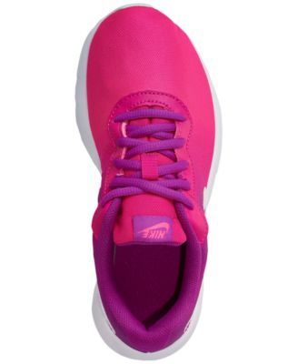 c68a358df8 Nike Little Girls' Tanjun Print Casual Sneakers from Finish Line - Purple  2.5