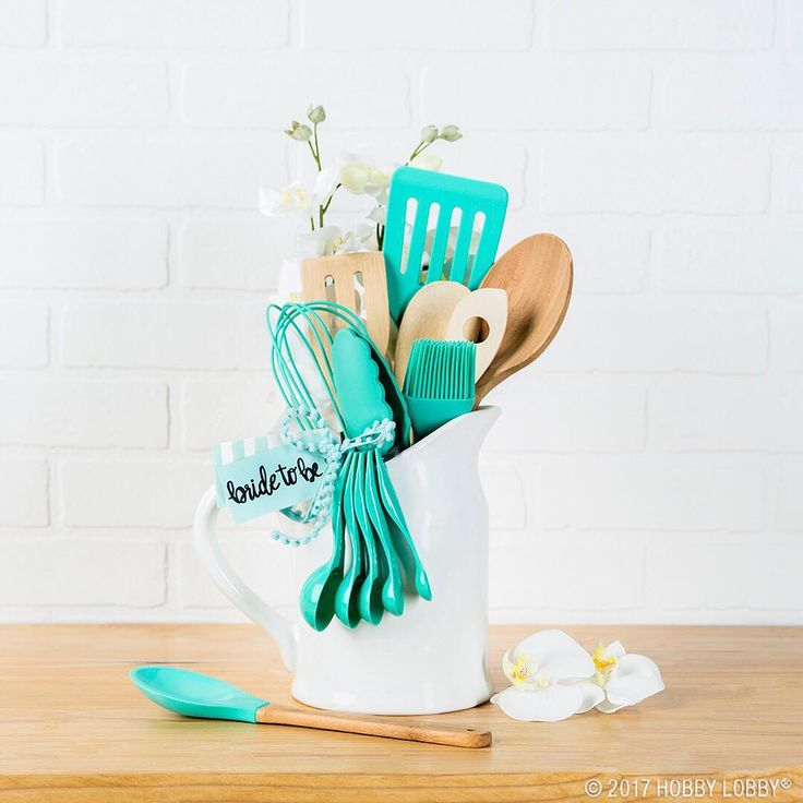 """290 Likes, 3 Comments - Hobby Lobby (@hobbylobby) on Instagram: """"Utensil bouquets are the perfect bridal shower gifts! #HobbyLobbyFinds #LinkInBio"""""""