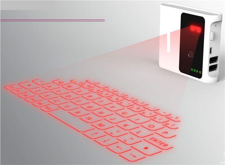 Virtual Laser Projector