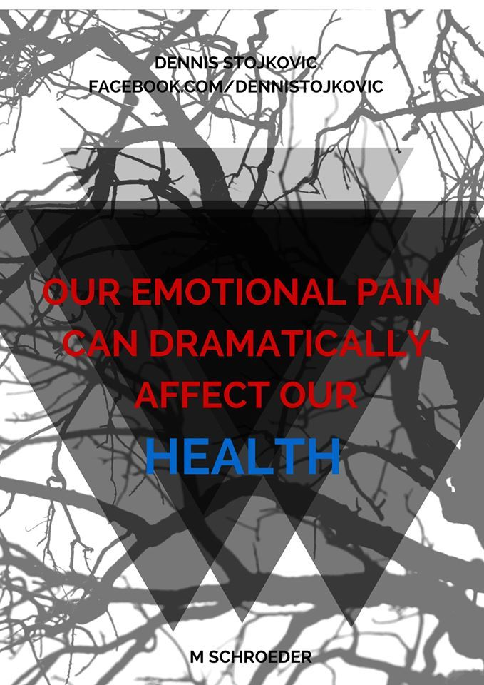 Our emotional pain