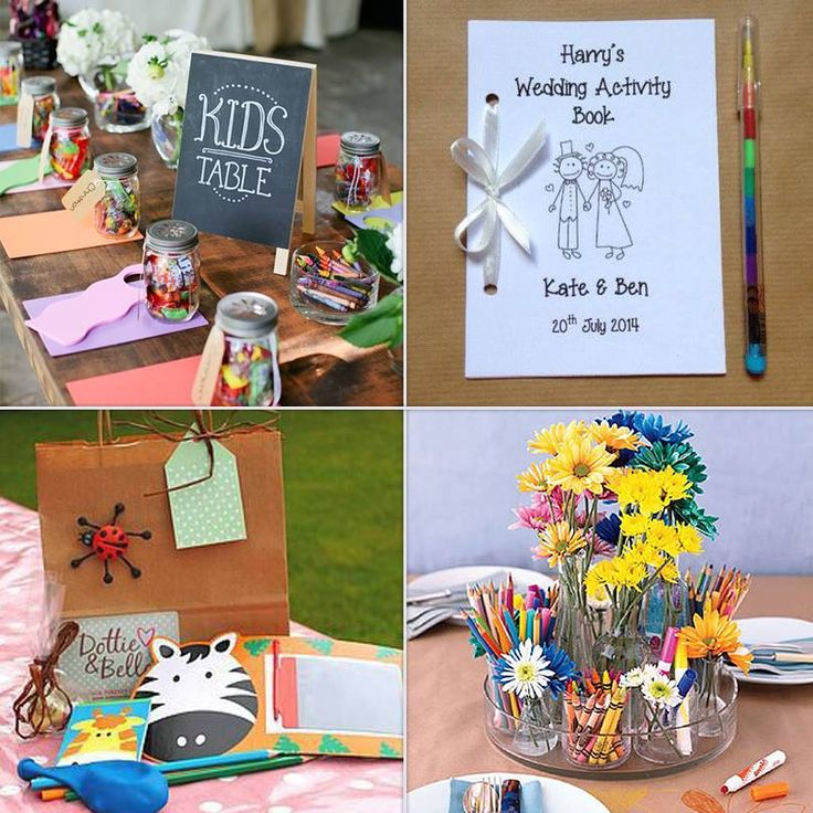 Düğünlerde çocukların da eğlenceli vakit geçirmesi için masalarına boya kalemi, şeker, kitap, oyuncak gibi hediyeler hazırlayıp bırakabilirsiniz.
