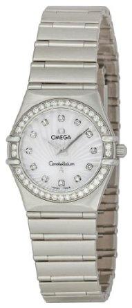 Omega Women's 111.15.26.60.55.001 Constellation Diamond Bezel Watch