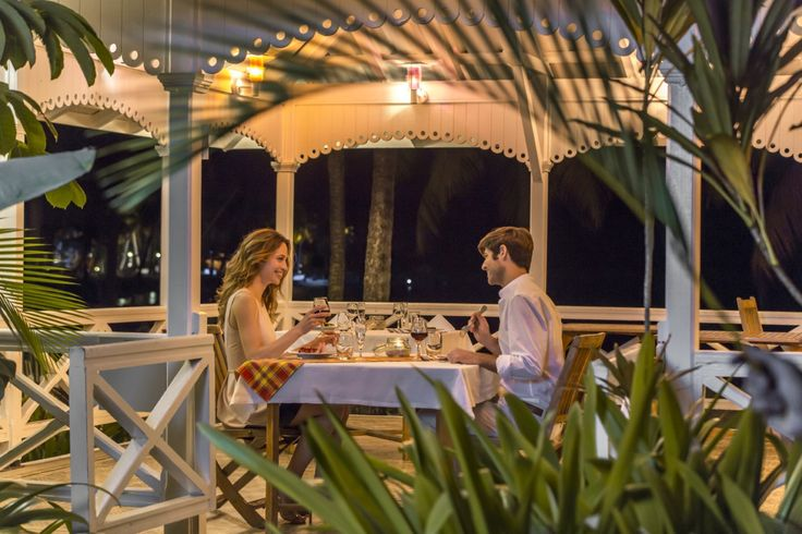 Club Med La Caravelle, Guadeloupe. Restaurant.
