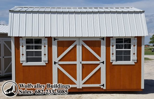 Wolfvalley Buildings  Storage Shed Blog.: Lofted Barn 10x16 Portable Storage Building, Free ...
