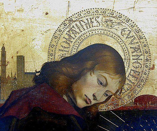Enguerrand Quarton - Pietà - Détail - Tempera sur panneau, 215 × 160 cm - Circa 1470 - Musée du Louvre, Paris artismirabilis.com www.artismirabilis.com/LYON/presse/revue-de-presse/2011/Lyon-01-arrondissement-les-nouveaux-habitants-degustent-Le-Progres.html www.artismirabilis.com/LYON/presse/revue-de-presse/2011/prix-rhonalpin-du-patrimoine-2011.html www.artismirabilis.com/LYON/presse/revue-de-presse/2011/un-havre-de-paix_Only-Lyon.html www.artismirabilis.com/LYON/accueil.html