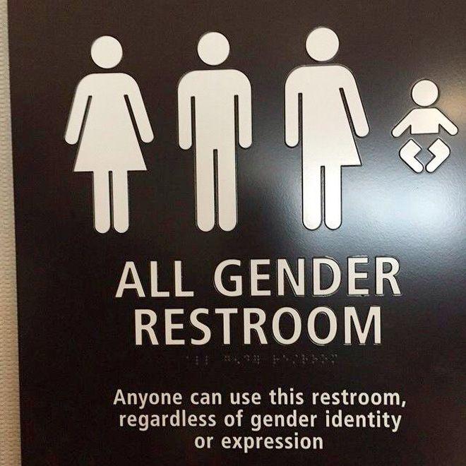 Best Bathroom Signs Images On Pinterest Bathroom Signs - All gender bathroom sign for bathroom decor ideas