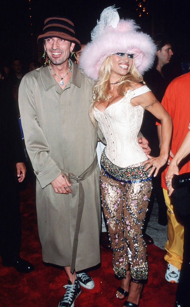 Pamela Anderson & Tommy Lee: All the Couples You Forgot Ever Went to the MTV Video Music Awards
