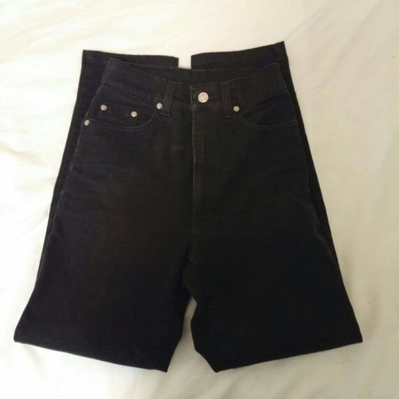 Versace Jeans Couture High waisted black jeans Size 26. Excellent condition. Versace Jeans