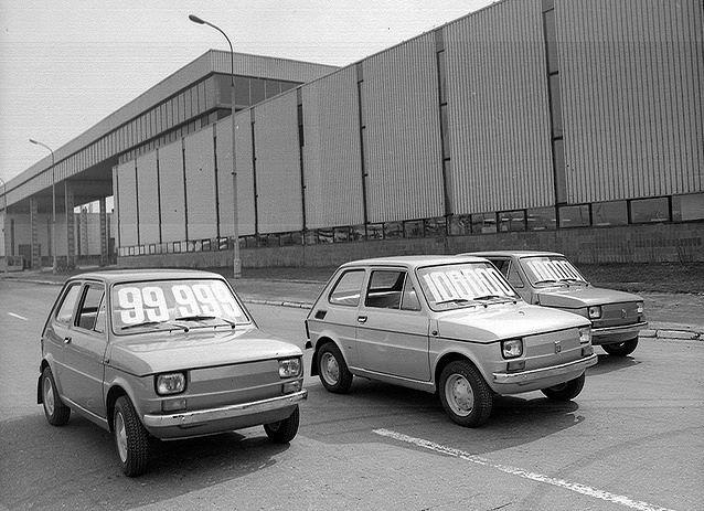 Polski Fiat 126p - granica 100 000 właśnie przekroczona.
