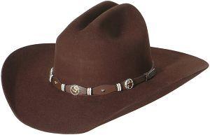 Cavender's 3X Oplin Chocolate Felt Cowboy Hat | Cavender's