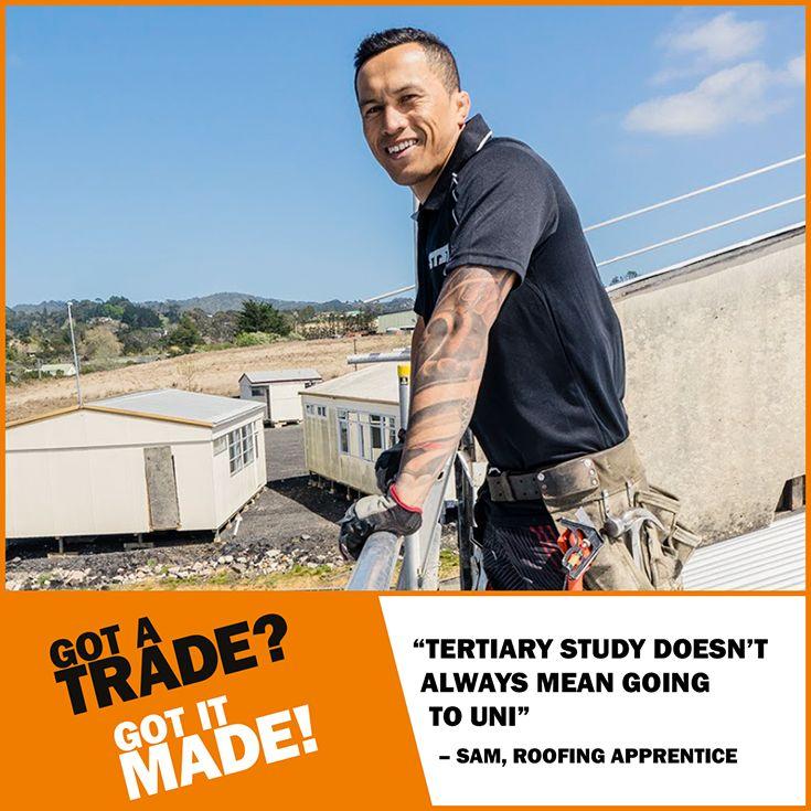#EarnWhileYouLearn with an #apprenticeship. Find your #trade at http://gotatrade.co.nz/getatrade #GotATrade #GotItMade