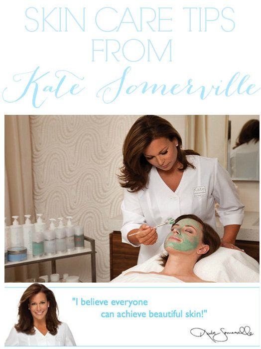 Kate Somerville is a Skin Health EXPERT! These tips have helped my skin SO much.