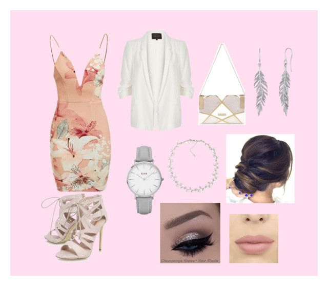 """Date night #3"" by elmiller95 on Polyvore featuring Ginger Fizz, Carvela, River Island, Topshop and Carolee"