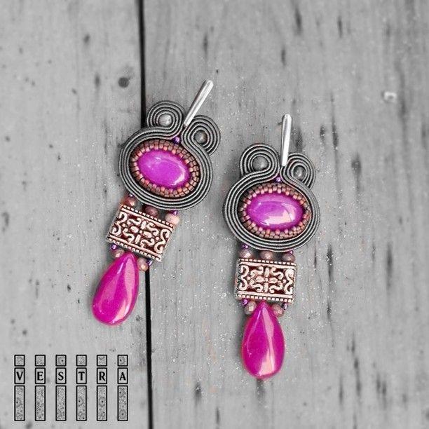 New one - name Lagertha AVAILABLE ❤ Nowe ! DOSTĘPNE  #vestra #szczecin #biżuteria #kolczyki #earrings #orecchini #soutache #sutasz #lagertha #bijoux #etnostyle #ethno #bohostyle #bohemian #jewelry #accessories #gypsystyle #fashion #instagram #amazing #jewellery #gemstone #handmade #rękodzieło #fashionista #newcollection #ootd #design #lovemyjob