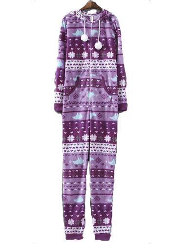 Onesies Footed Pajamas - JUICYWARDROBE