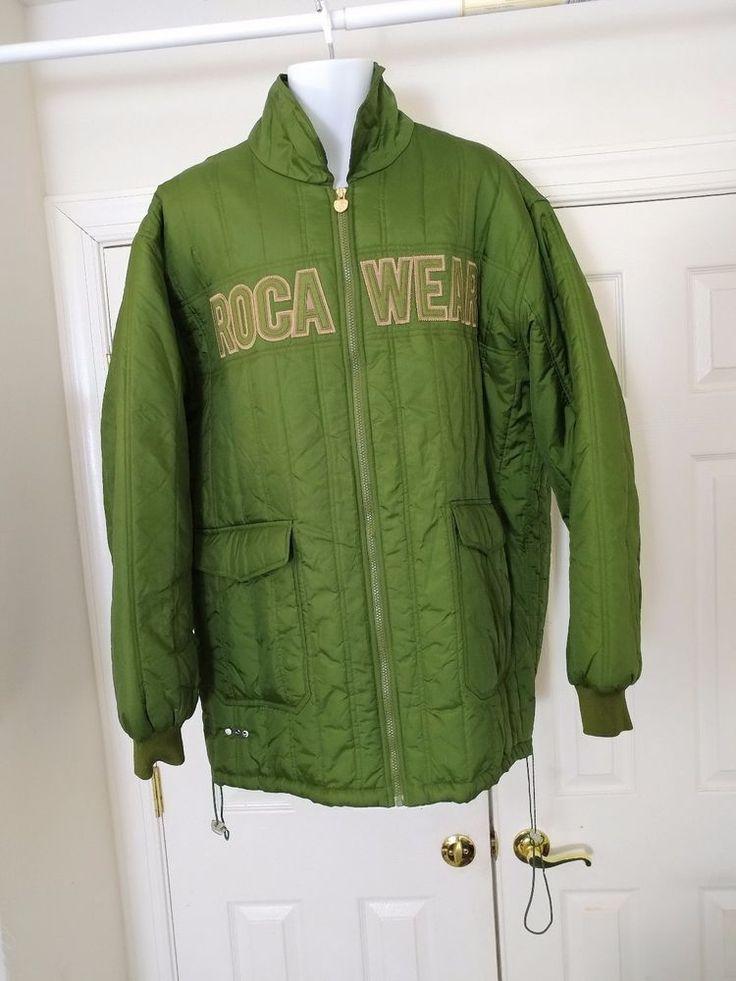 Rocawear Men's Green Parka Winter Jacket Coat 3XL JAZY JIGGA #Rocawear #Parka