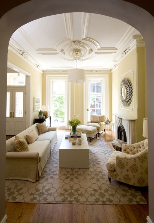 313 best brownstone decor images on pinterest terraced for Hoboken interior design