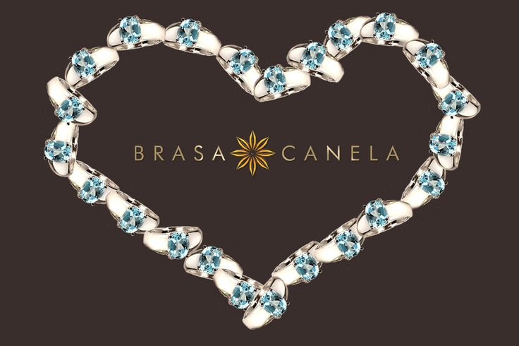 Brasa Canela San Valentine's sparkling pieces were specially selected to make a mark in your life story. ‪#‎BCSanValentino‬ ‪#‎BRASACANELA‬