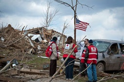Red Cross ~ follow this link to make monetary donations to the areas in Southern Indiana affected by the March 2, 2012 Tornadoes!