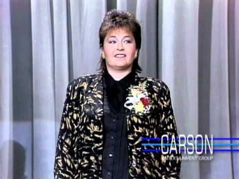 "Roseanne Barr Makes Her 1st TV Appearance Ever on ""The Tonight Show"" -- 1985 - YouTube"