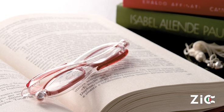 ZIC Red Folding Reading Glasses
