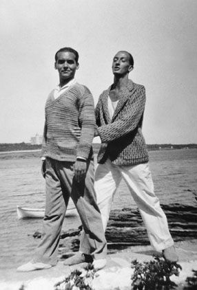 "García Lorca with Salvador Dalí - Between June 1929 and March 1930, the 30 year old Spanish poet, playwright, and author travelled abroad for the first time. He spent time in New York, Vermont, and Havanna. According to editor Christopher Maurer, Lorca's ""A Poet in New York"" is ""both a condemnation of modern urban civilization--the spiritual emptiness epitomized by New York--and a dark cry of metaphysical loneliness."""