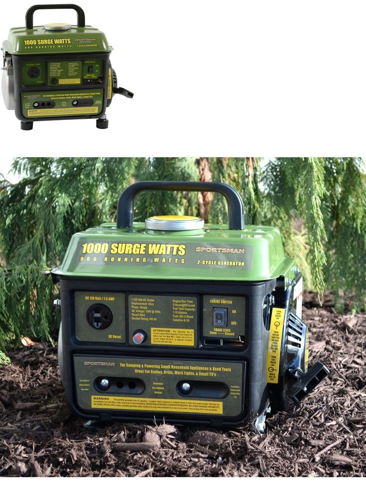 Generators and Heaters 16039: Camping Portable Generator Gas To Electric Powered Generator 1000-Watt 2-Cycle -> BUY IT NOW ONLY: $129.4 on eBay!
