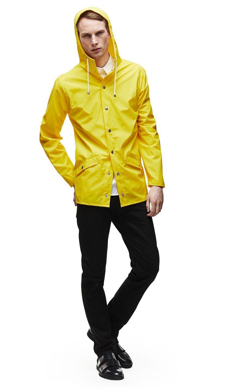 Jacket - Yellow   RAINS   Rainwear   Modern Danish Design