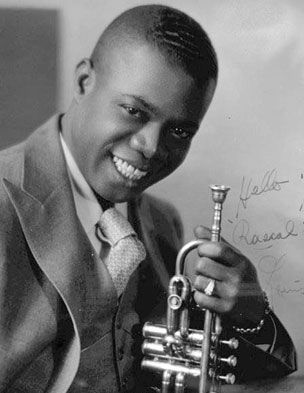 the life and career of louis armstrong an american jazz trumpeter Many scholars call louis armstrong the first great jazz soloist louis armstrong's jazz trumpeter louis armstrong remains an icon of american.