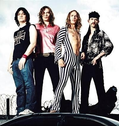 The Darkness. The greatest glam rock band of our generation.