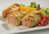 The oinker plain sausage roll